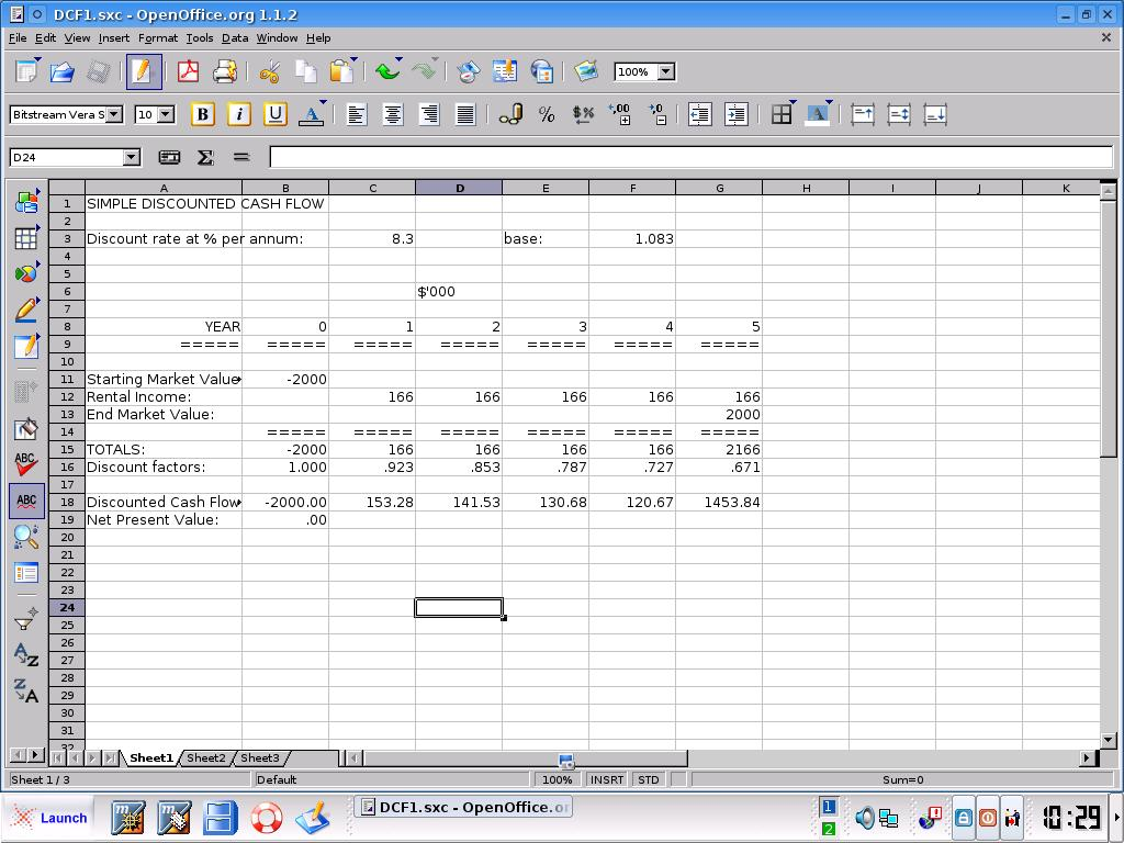 Discounted Cash Flow Introductory Course